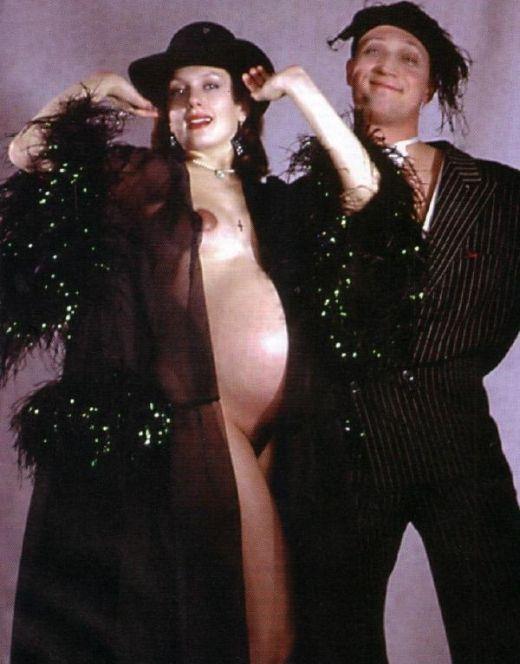 Голая Мария Порошина во время беременности
