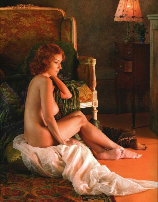 Голая Юлия Зимина на горячих фото из журналов