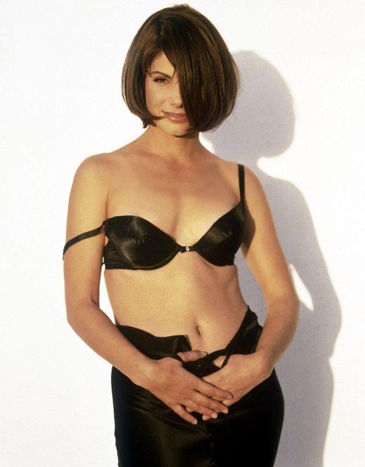 Горячие фото обнаженной Сандры Баллок из журналов