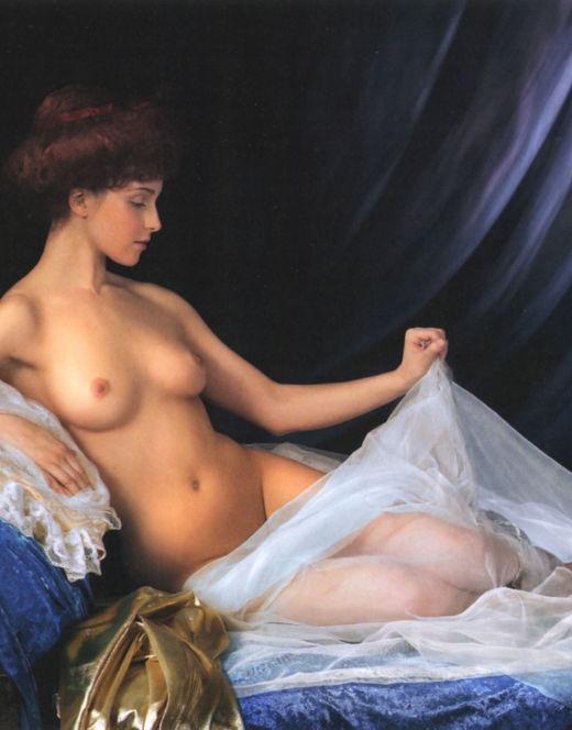 Горячие фото Анны Снаткиной из других журналов