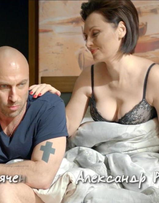 Елена Ксенофонтова в нижнем белье из сериала «Отель Элеон»