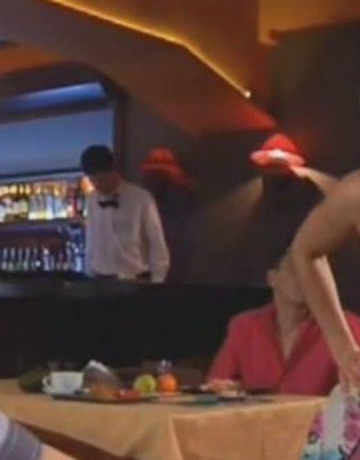 Ксения Теплова в нижнем белье из телешоу «Даёшь молодёжь!»