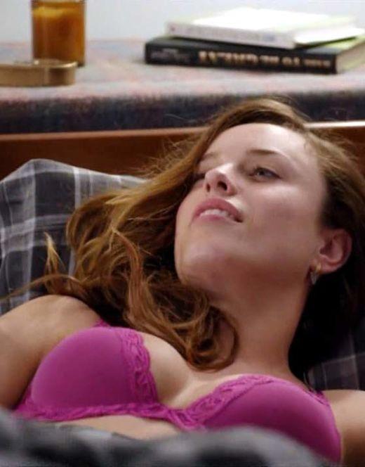 Джессика Макнэми в нижнем белье из фильма «Сирены»