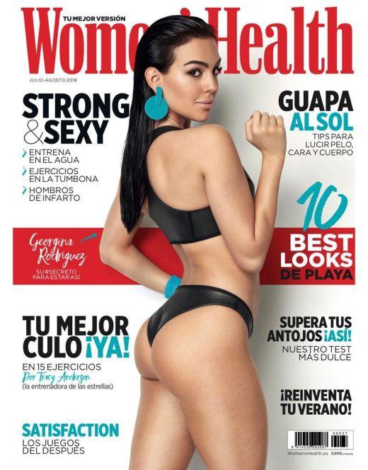 Горячие фото Джорджины Родригес из журналов
