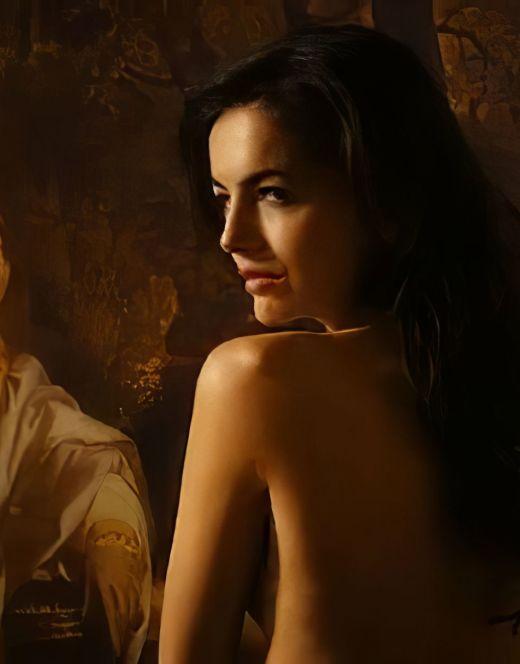 Голая Камилла Белль в эротических сценах