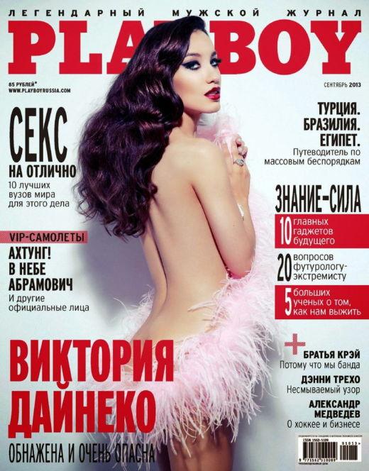Голая Виктория Дайнеко из «Плейбой»