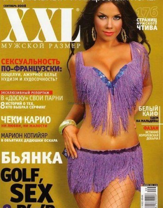 Горячие снимки с голой Бьянкой из XXL