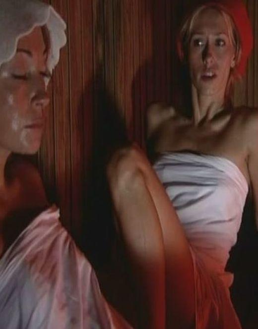 Обнаженная Виктория Тарасова в бане из сериала «Глухарь. Возвращение»