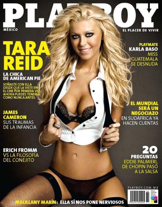 Голая Тара Рид из Playboy