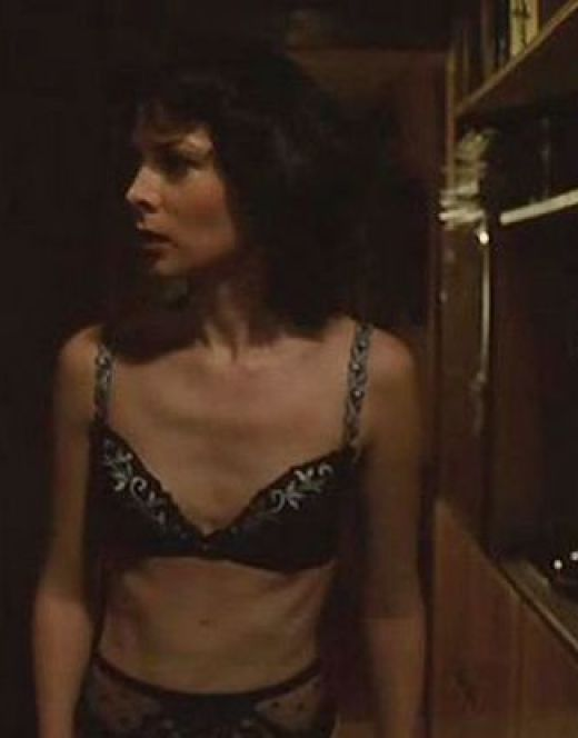 Кадры Ольги Погодиной в нижнем белье из фильма «А поутру они проснулись»