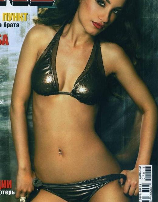 Виктория Дайнеко на эротических фото из журнала XXL