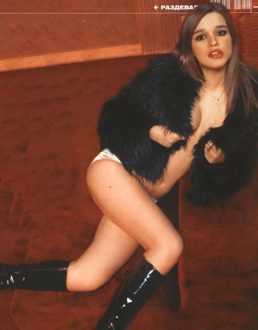Эротические фото Ксении Бородиной из журнала SIM