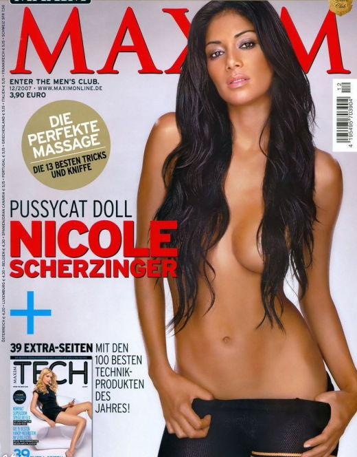 Горячие фото Николь Шерзингер из Maxim