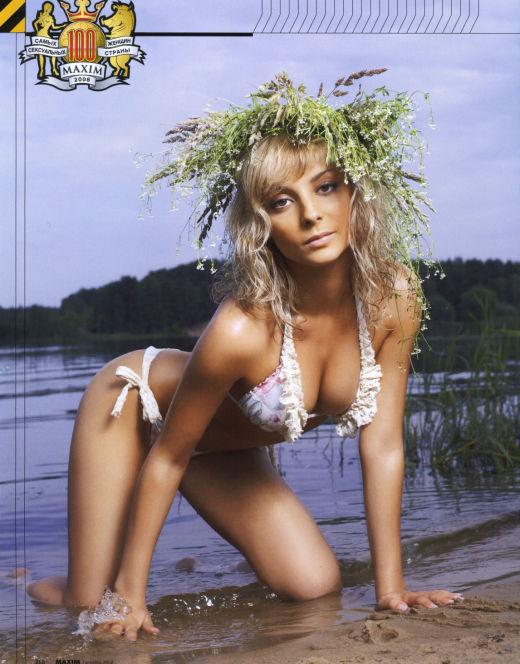 Горячие фото Дарьи Сагаловой из Maxim (2006)