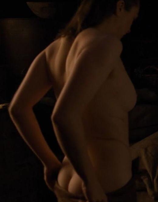 Голая Мэйси Уильямс в сериале «Игра престолов»