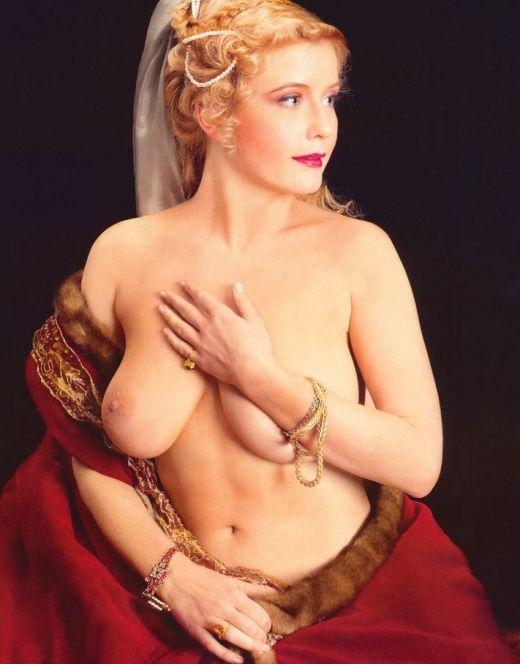 Голая Татьяна Арно на горячих фото из других журналов