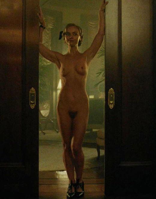 Голая Кристина Риччи на эротических кадрах из кино