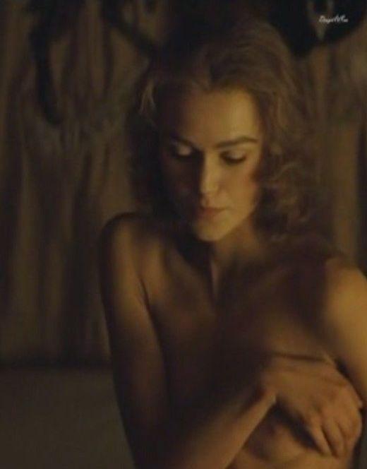 Кира Найтли показала голую грудь в кино