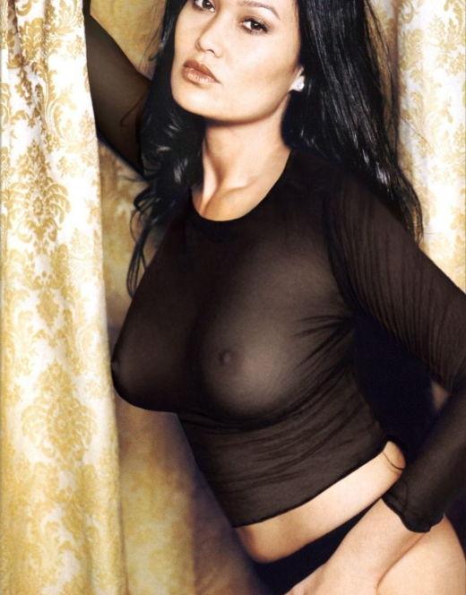 Горячие фото Тиа Каррере в нижнем белье