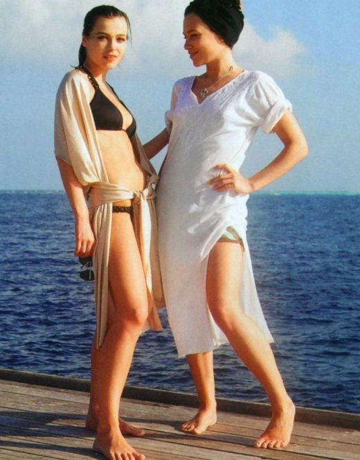Елена Темникова на фото в купальнике