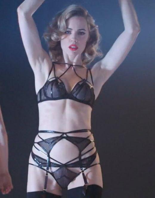 Мелисса Джордж в интимной фотосессии для бренда Agent Provocateur