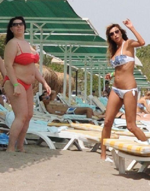 Екатерина Скулкина на фото в купальнике (засветы)