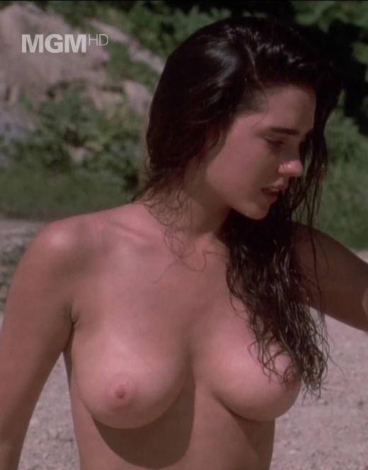 Голая Дженнифер Коннелли на горячих кадрах из кино