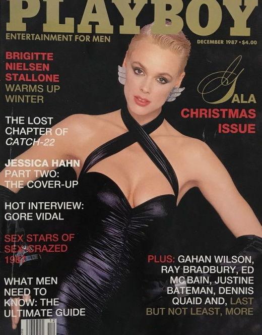 Горячие фото Бриджит Нильсен в молодости из Playboy