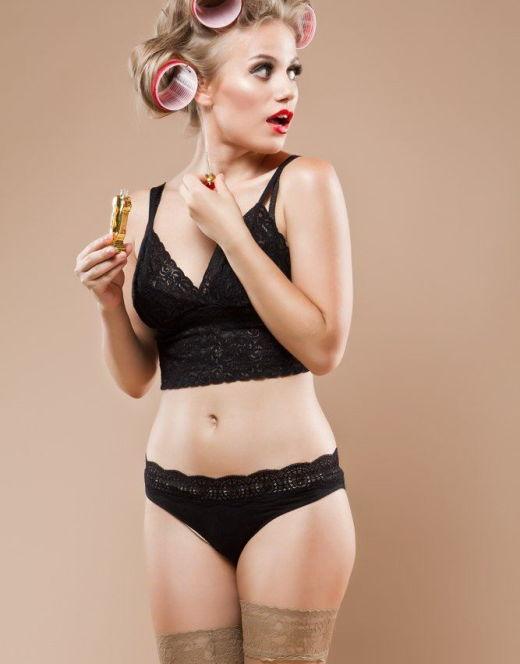 Эротические фото Виктории Клинковой в нижнем белье