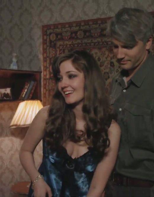 Валентина Лукащук в нижнем белье из сериала «Дом с лилиями»