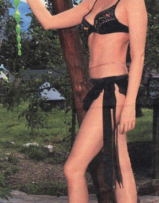 Ольга Кабо на фото в купальнике