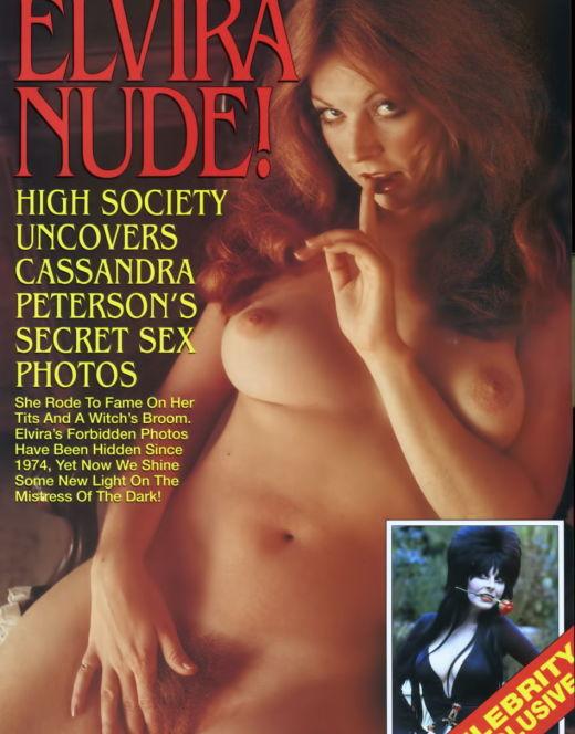 Голая Кассандра Петерсон в эротическом журнале