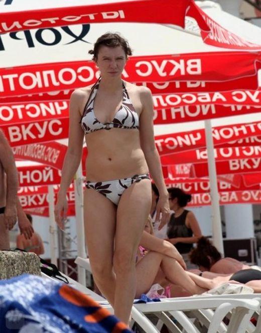 Ирина Рахманова на фото в купальнике
